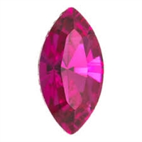 Swarovski #4228, 6 x 3mm Pointed Back Navette- Fuchsia