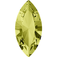 Swarovski #4228, 6 x 3mm Pointed Back Navette- Jonquil