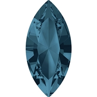 Swarovski #4228, 6 x 3mm Pointed Back Navette- Montana