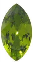 Swarovski #4228, 6 x 3mm Pointed Back Navette- Olivine
