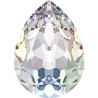 #4320 Swarovski Pear Fancy Stone- 18 X 13mm - Crystal AB