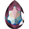 #4327 Swarovski Large Pear Fancy Stone- 30 X 22mm - Burgundy DeLite