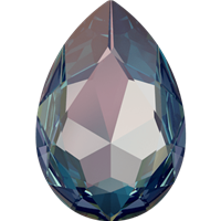 #4327 Swarovski Large Pear Fancy Stone- 30 X 22mm - Royal Blue DeLite