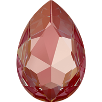 #4327 Swarovski Large Pear Fancy Stone- 30 X 22mm - Royal Red DeLite