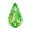 Swarovski Pointed Back Pear - 13 x 7.8mm  - Peridot