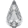 Swarovski Pointed Back Pear - 13 x 7.8mm  - Crystal