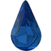 Swarovski Pointed Back Pear - 13 x 7.8mm  - Sapphire