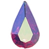 Swarovski Pointed Back Pear - 13 x 7.8mm  - Siam AB