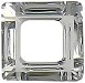 14mm Square Cosmic Ring Crystal CAL