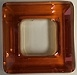 14mm Square Cosmic Ring Crystal Copper