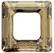 14mm Square Cosmic Ring Golden Shadow CAL