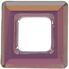 20mm Square Cosmic Ring Lilac Shadow