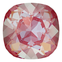 #4470 Swarovski Cushion Square Fancy Stone- 12mm - Lotus Pink DeLite