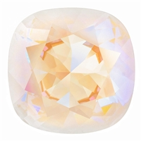 #4470 Swarovski Cushion Square Fancy Stone- 12mm - Lt Grey DeLite