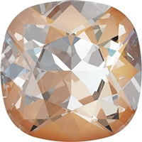 #4470 Swarovski Cushion Square Fancy Stone- 12mm - Peach DeLite