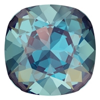 #4470 Swarovski Cushion Square Fancy Stone- 12mm - Royal Blue DeLite