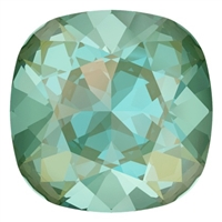 #4470 Swarovski Cushion Square Fancy Stone- 12mm - Silky Sage DeLite