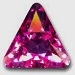 10mm Triangle Pointed Back-REGULAR/PLAIN COLORS