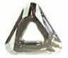 14mm Triangle Cosmic Ring Silver Shade CAL