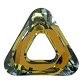20mm Triangle Cosmic Ring Tabac