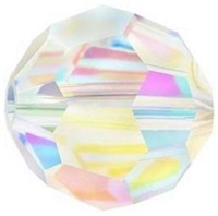 Swarovski 4mm Round-AB 2X COLORS