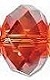 12mm Briolette Bead (Gemstone) Red Magma