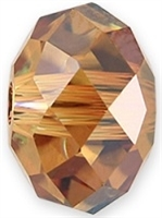 18mm Briolette Bead (Gemstone) Crystal Copper