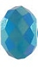 8mm Gemstone Bead Caribbean Blue Opal AB 2X