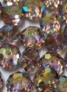8mm Gemstone Bead Greige AB 2X