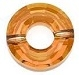 12.5mm Ring Bead Crystal Copper