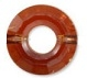 12.5mm Ring Bead Red Magma