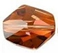 12mm Cosmic Bead Crystal Copper