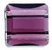 10mm Double Hole Stairway Bead Amethyst