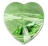 8mm Heart Bead Peridot