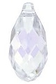 13 x 6.5mm Briolette Pendant Crystal Moonlight
