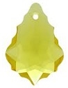 16 x 11mm Baroque/Fancy Pendant Light Topaz