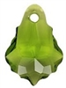 16 x 11mm Baroque/Fancy Pendant Olivine