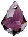 22 x 15mm Baroque/Fancy Pendant Amethyst