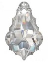 22 x 15mm Baroque/Fancy Pendant Crystal