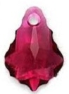22 x 15mm Baroque/Fancy Pendant Ruby
