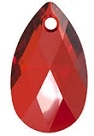 16mm Teardrop Red Magma