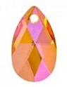 22mm Teardrop Pendant Astral Pink