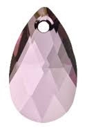 22mm Teardrop Antique Pink