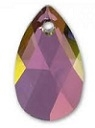 28mm Teardrop Pendant Lilac Shadow