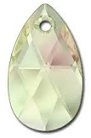 28mm Teardrop Pendant Luminous Green