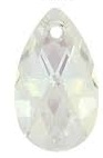 28mm Teardrop Pendant Crystal Moonlight
