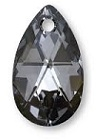 28mm Teardrop Silver Night
