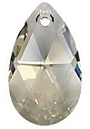 28mm Teardrop Silver Shade