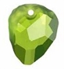 23mm Rock Pendant Olivine