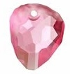 23mm Rock Pendant Rose